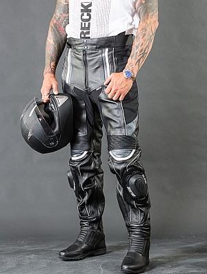 Force V2 Leather mc skinnbyxa