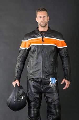 Volt Custom leather mc jacka 009876
