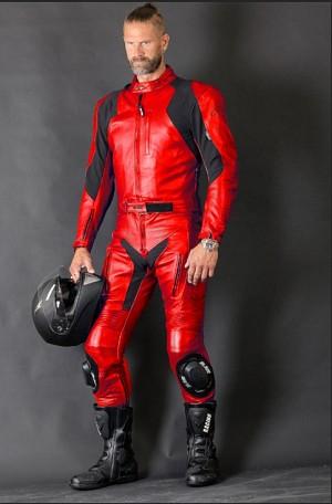 Rider 2-delat skinnställ Red 5019