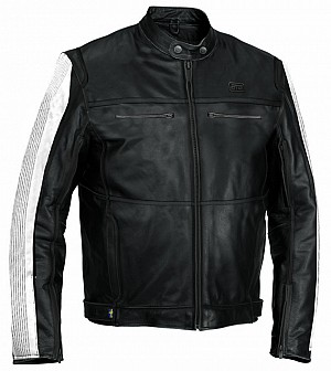 ATA Storm leather skinn mc jacka  20003