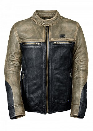 ATA RESISTENS TOURING LEATHER MC SKINNJACKA  001254