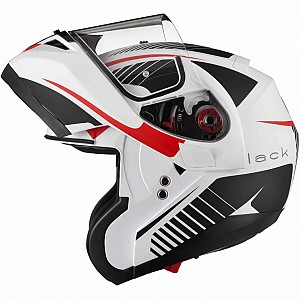 BLACK OPTIMUS SV TOUR MAX VISION FLIP SOLVISIR MATT WHITE RED GREY 124003903
