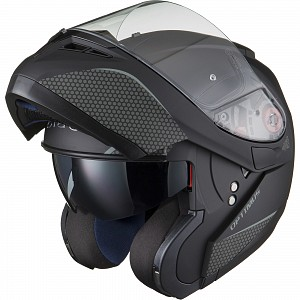 BLACK Optimus SV Flip Front Solvisir Matt Black 12399
