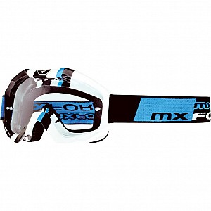 MX Force Magen Cube Motocross 143381000 White Goggles
