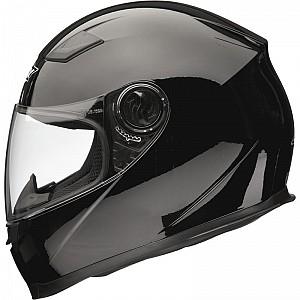 Shox Sniper Black 64040103 mc hjälm
