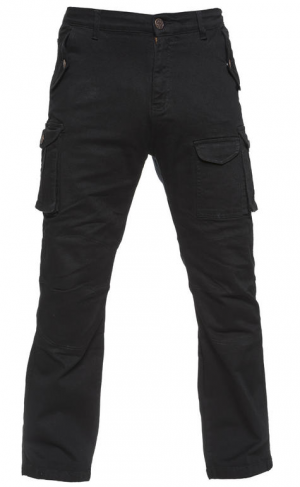BLACK COMMAND MC KEVLAR CARGO JEANS BYXA BLACK